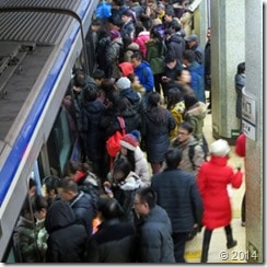 Work Hours in Beijing – or Rush Hour Exacerbated